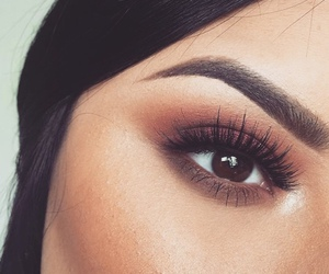 brown, brunette, and crease image