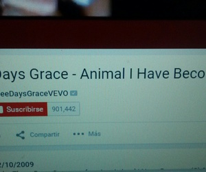 three days grace, one x, and animal i have become image