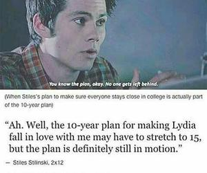 teen wolf, stydia, and otp image