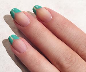 backstage beauty, fashion week, and nail art image