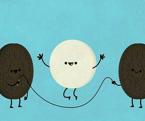 oreo, funny, and food image