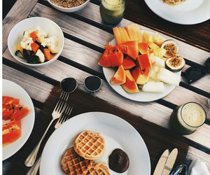 breakfast, eat, and healthy image