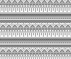 aztec, black, and pattern image