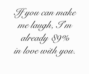 quote, black and white, and laugh image