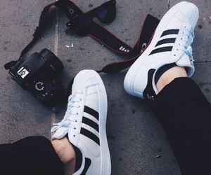 adidas, black, and camera image