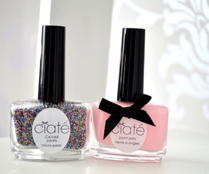 nail polish, pink, and nails image