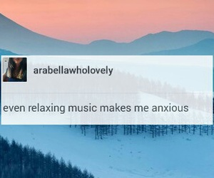 anxiety, funny, and landscape image