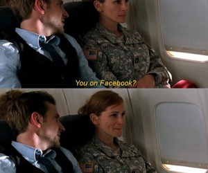 facebook, happy, and julia roberts image