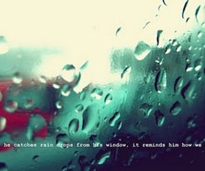 rain, text, and typography image