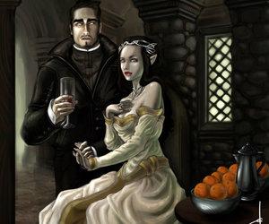 couple, vampire, and gothic image