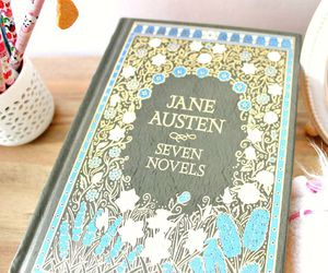 books, jane austen, and pastel image