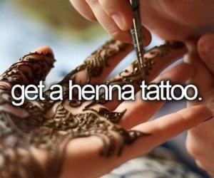 girly, henna, and tatto image