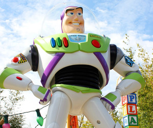 buzz lightyear, disney, and disneyland image
