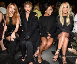 nyfw, bella thorne, and kylie jenner image