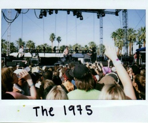 the 1975, concert, and polaroid image