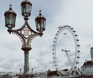 attraction, london eye, and tourist image