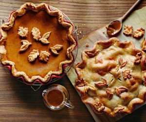 autumn, fall, and pie image