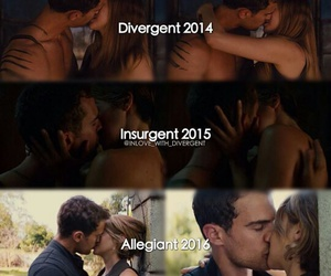 kiss, insurgent, and divergent image