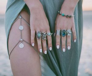 accessories, arabic, and bracelet image