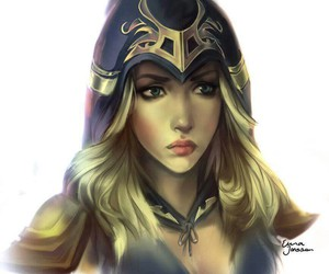 art, ashe, and drawing image