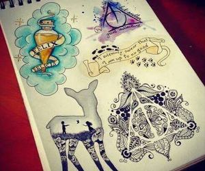 always, deathly hallows, and hp image