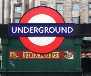 london, travel, and underground image