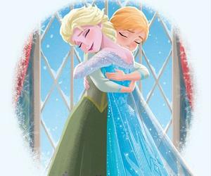 disney princess, frozen, and sister image