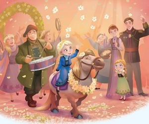 celebration, musicians, and pony image