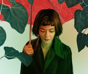 amelie, art, and movie image