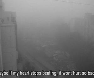 sad, heart, and depressed image