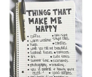 happy, happiness, and things image