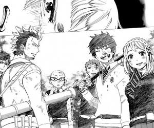 anime, manga, and blue exorcist image
