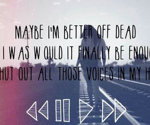 better off dead, band, and sleeping with sirens image