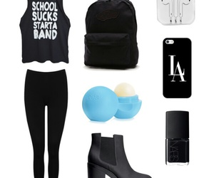 band, black, and fashion image