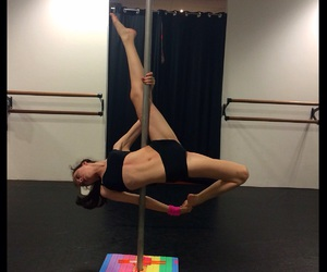 dance, fitness, and pole image