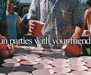 friends, party, and justgirlythings image