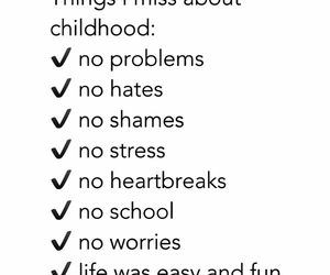 childhood, quote, and problems image
