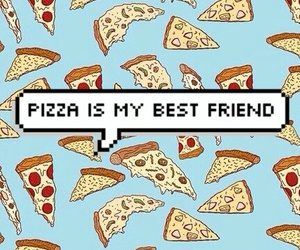 best friend, food, and friend image