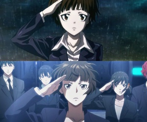 anime, before and after, and psycho pass image