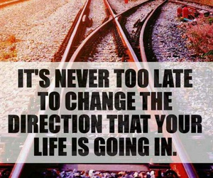 change, direction, and life image
