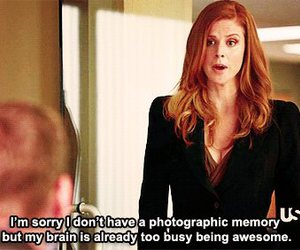 suits, awesome, and donna image