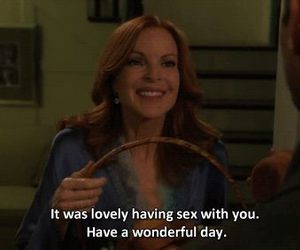 day, quotes, and Desperate Housewives image