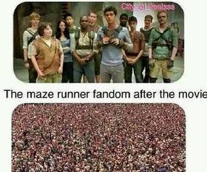 fandom, movie, and maze runner image