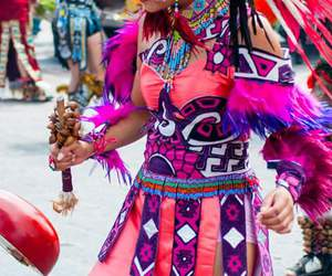 dancer, mexico, and place image