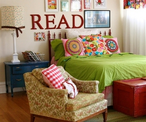 read, bedroom, and room image