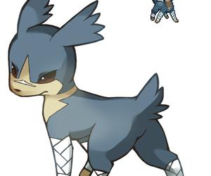 eevee, fighting, and pokemon image