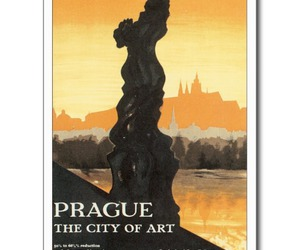 czechoslovakia, postcard, and travel image