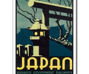 japan, railways, and postcard image