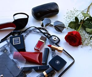 chanel, manicure, and rose image