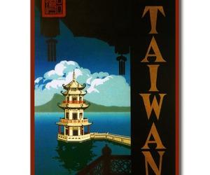 asia, pagoda, and postcard image